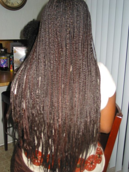 INDIVIDUAL BOX BRAIDS EXTRA LONG
